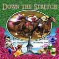 "Down The Stretch Pillow  SKU # A19-1201C  Horses and jockeys race down the stretch in this beautiful and colorful pillow.  Made in the USA.   2 lb.  16"" W x 16"" H x 2.5"" D"