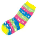 Youth Horse Waves Socks