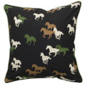 Set of 2 Horses Galore Pillow Set