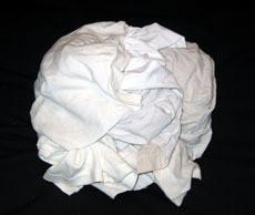 Rags reclaimed white t shirts 25lb box u 30w for T shirt rags bulk