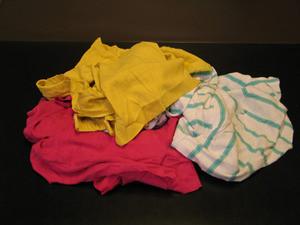 Rags reclaimed colored t shirts 50lb box u 31 for T shirt rags bulk