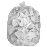 Can Liners - high density - clear - 10 gallon - ADVC242408C*