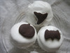 Chocolate Halloween Cookie Cupcakes