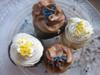Hannukah Mini Cupcakes