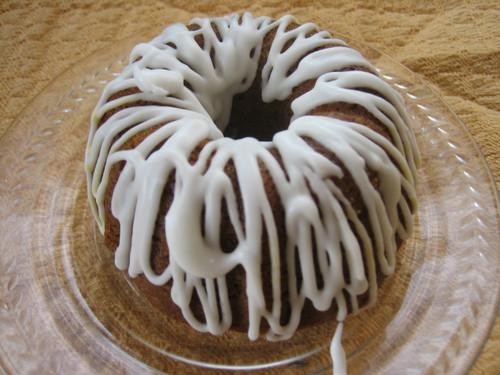 Pumpkin Bundt Cakes