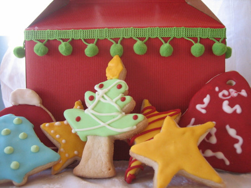 Box of Christmas Cookies