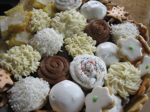 Medium Cupcake and Cookie Tray