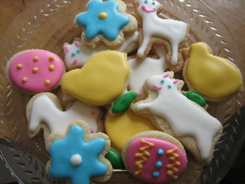 Easter Mini Sugar Cookies