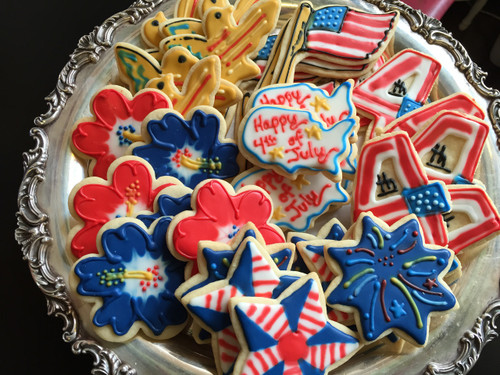 Fourth of July Sugar Cookies