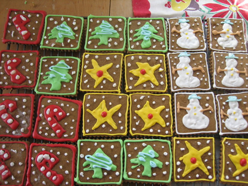 Christmas Folk Art Cookies