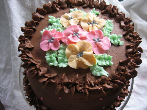 Luscious Chocolate Cake - 7""