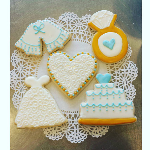 Wedding Shower Sugar Cookies