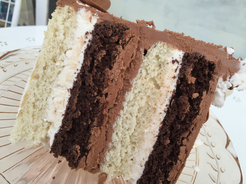 Chocolate and Vanilla Bean Cake
