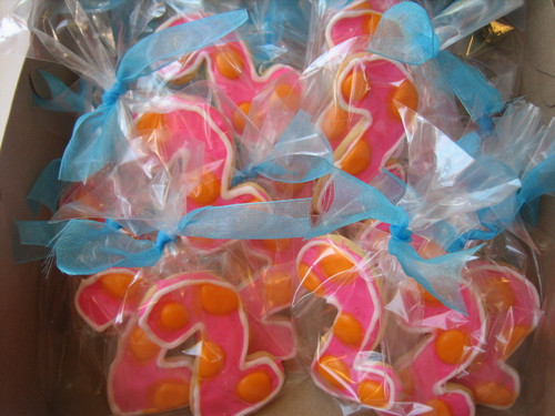 Numbers and Letters Sugar Cookies