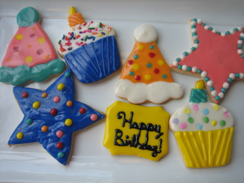 Happy Birthday Sugar Cookies