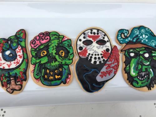 Oversized Halloween Sugar Cookies