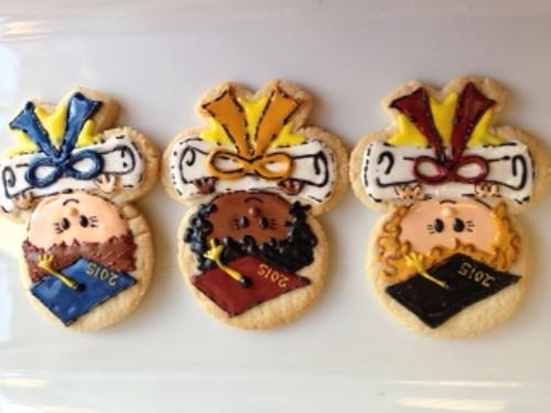 Graduation Kids Sugar Cookies