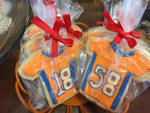 Football Jersey Cookies
