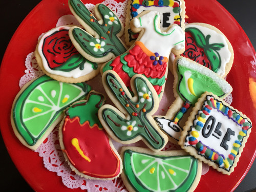 Cinco de Mayo Sugar Cookies