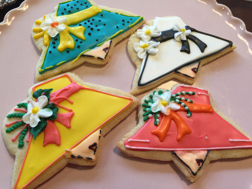 Kentucky Derby Hat Sugar Cookies