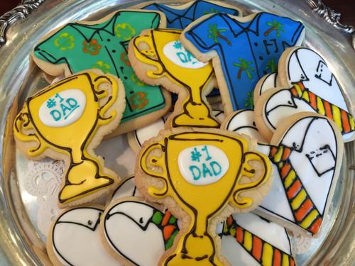 #1 Dad Sugar Cookies
