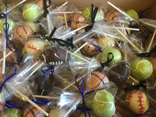 Athletic Ball Cake Pops