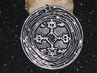 Magic Circle of Solomon Amulet