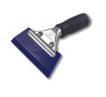 "BLUE MAX 5"" HAND SQUEEGEE CAN BE CONFIGURED WITH A SQUARE OR ANGLED SQUEEGEE BLADE. USED TO REMOVE INSTALLATION SOLUTIONS DURING THE INSTALLATION PROCESS."