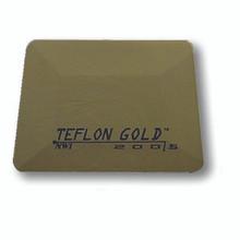 "4"" GOLD TEFLON CARD"