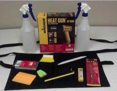 Basic Window Tint Start Up Tool Kit