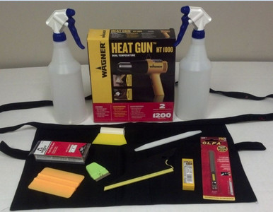 Basic Window Tint Start Up Tool Kit