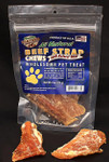 Beef Strap Chew 4 oz Bag - All Natural