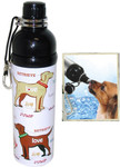 Pet Water Bottle (24 oz)  PUPPY LOVE, Case of 24