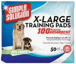 Extra Large Training Pads - 50 Pad Pack - Pallet