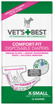 Comfort-Fit Disposable Female Diapers XS (12 Pack)