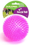 Gnawsome Dental Ball Dog Chew Toy -- Large 4""