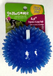 Gnawsome Dental Ball Squeak & Light Chew Toy -- Medium 3.5""