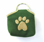 """Peace"" Tags -- Pet ID Tag Covers - Green"