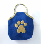 """Peace"" Tags -- Pet ID Tag Covers - Blue"