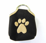 """Peace"" Tags -- Pet ID Tag Covers - Black"