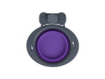 Collapsible Kennel Bowl - Small Purple