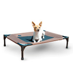 Original Pet Cot Medium Choc/Mesh