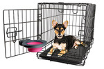 Collapsible Kennel Bowl - Small Pink