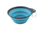 Collapsible Travel Cup - Small Blue