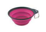 Collapsible Travel Cup - Large Pink