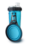 Snack-DuO Bottle with Companion Cup - Blue