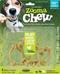 ZoomaChew 6 Count Knotted Chews, Small to Medium Dogs