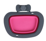 Collapsible Kennel Bowl - Pink