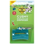 Bags on Board Cushy Dog Waste Pickup Bag Dispenser - Blue