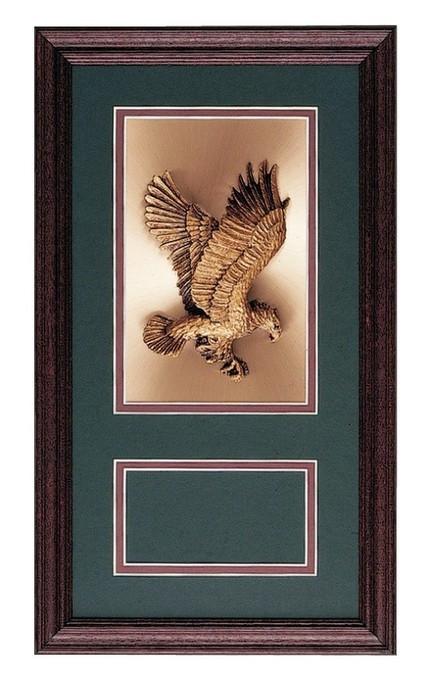 Military Award Frame Eagle Copper - Mai\'s Jewelry & Engravers
